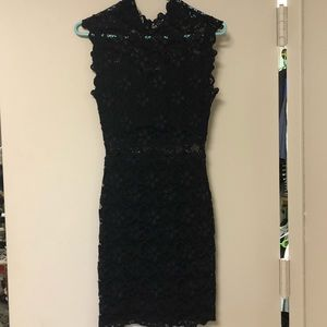 Black lace nightcap dress!